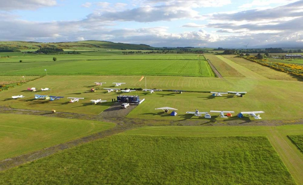 Easter Airfield Scotland