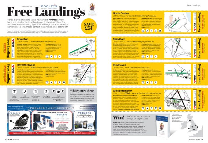 FLYER April 2017 Free Landings