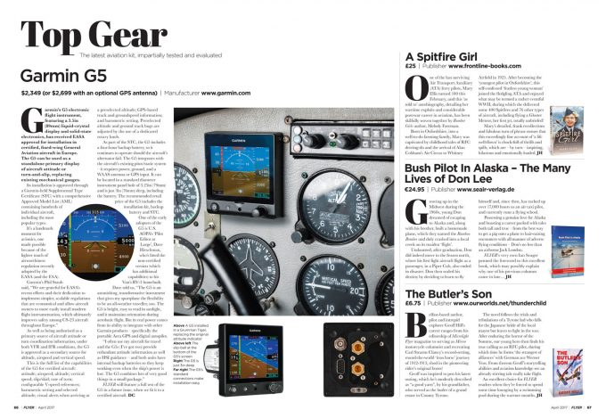 FLYER April 2017 Top Gear