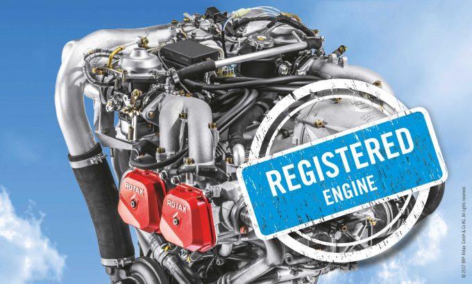 Rotax engine registration