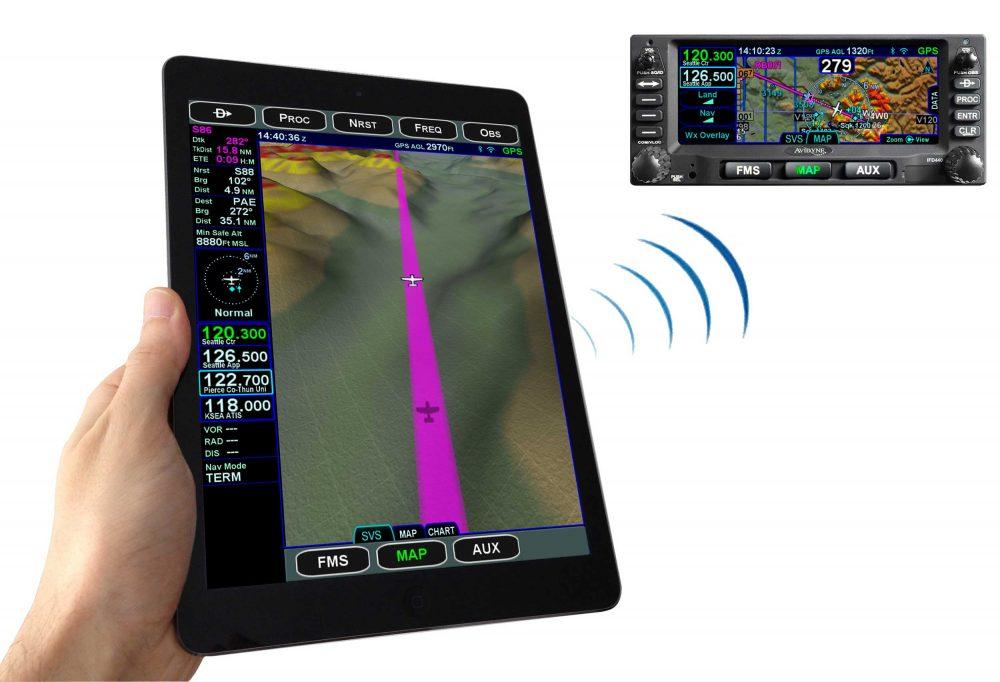 Avidyne iPad app
