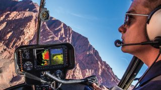 Garmin G500H upgrade for R44 helicopter