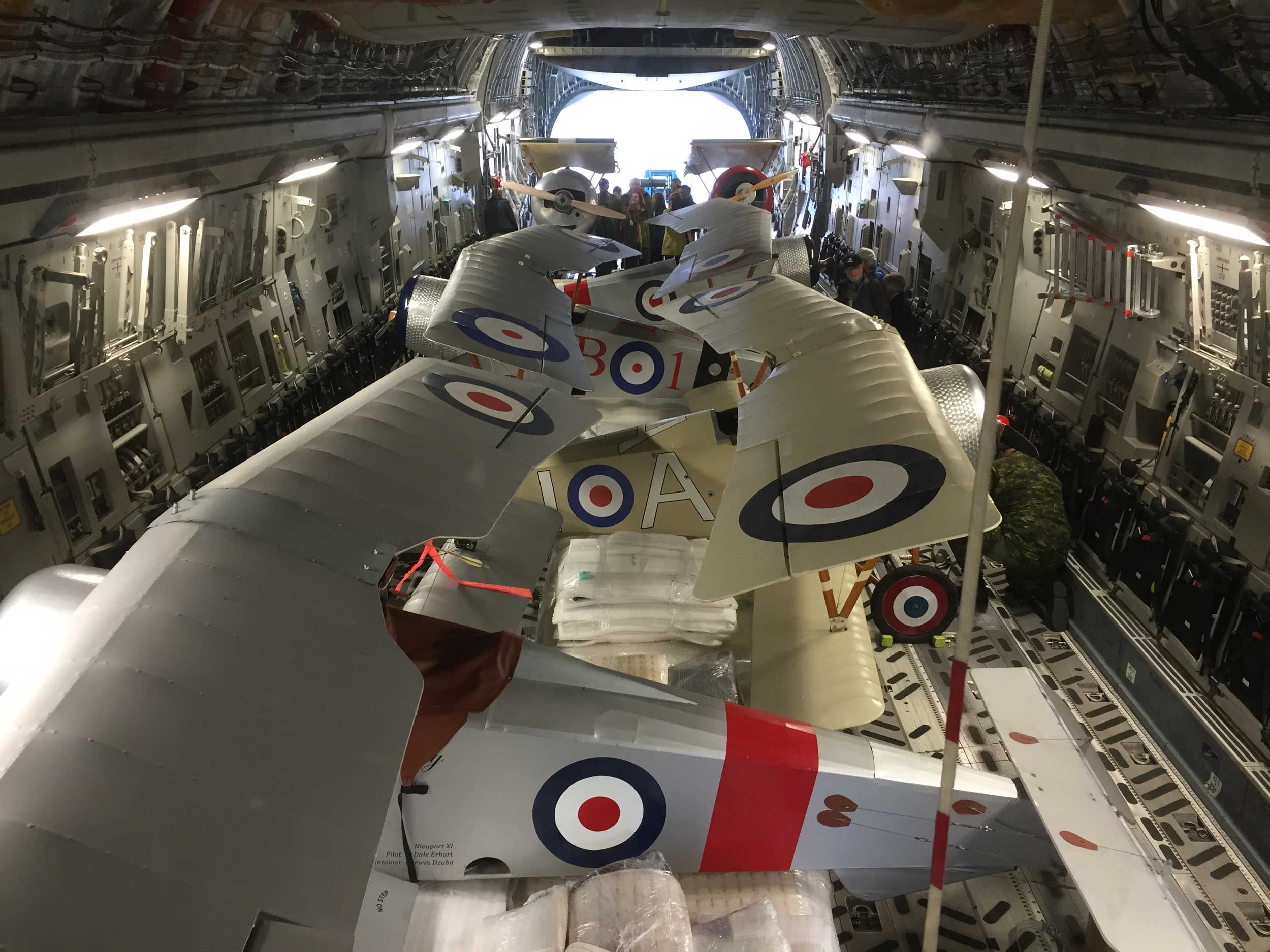 WWI replicas to fly in French Vimy memorial