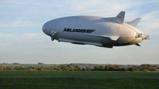 Airlander takeoff