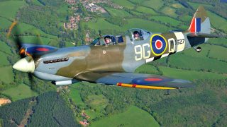 win a flight in a spitfire