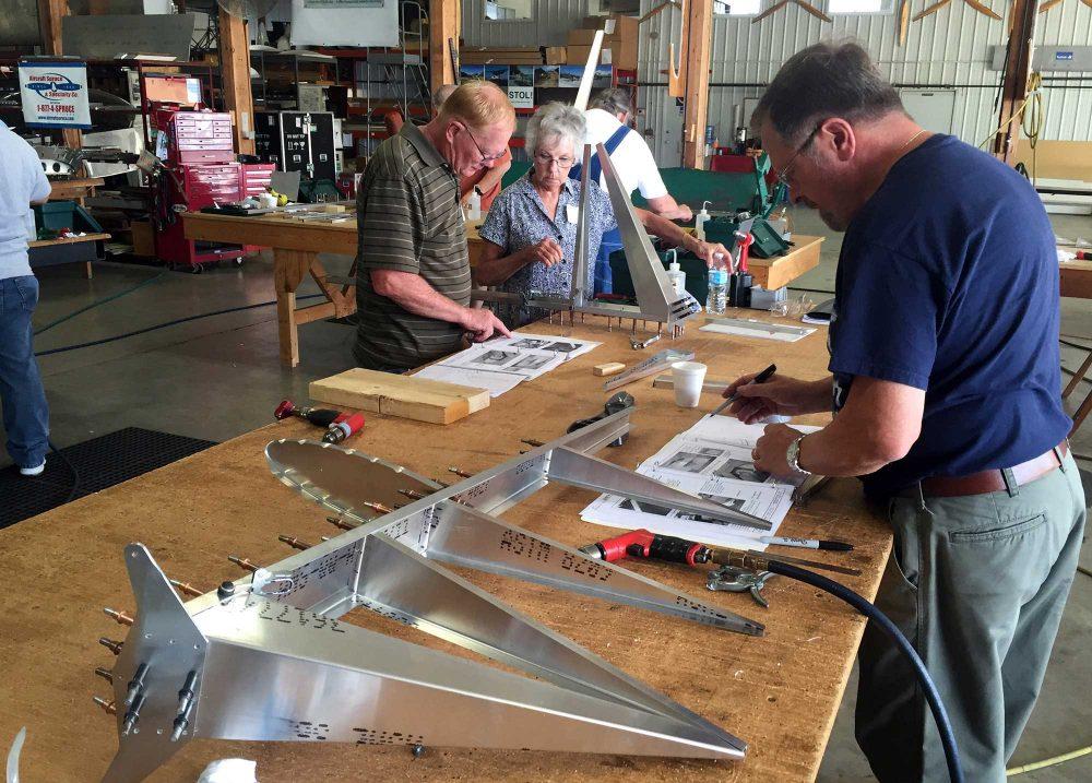 Zenair kitplane workshop