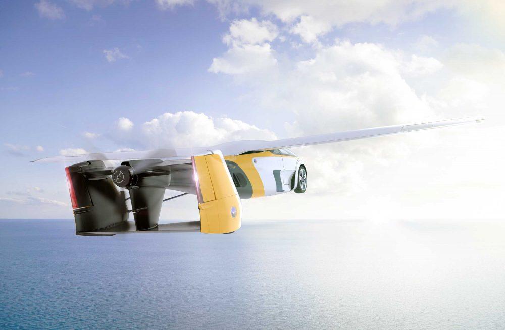 AeroMobil v4.0 flying car