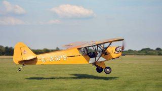 Piper Cub tailwheel training