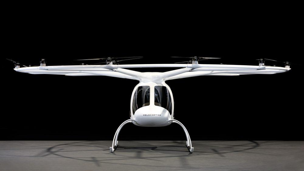 Volocopter Dubai flight tests