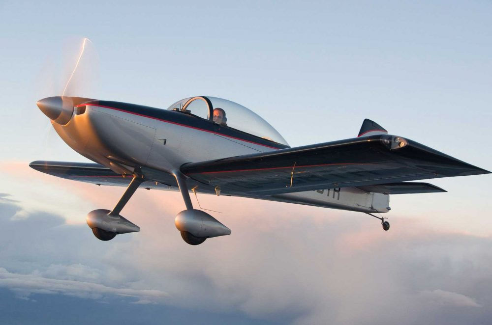 Vans RV8 tailwheel scholarship Ed Hicks photo