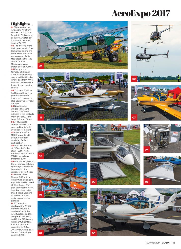 Aero Expo report Summer 2017