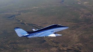 Stratos 714 jet