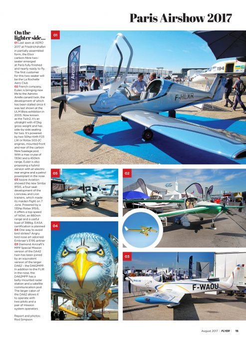 FLYER August 2017 Paris Airshow