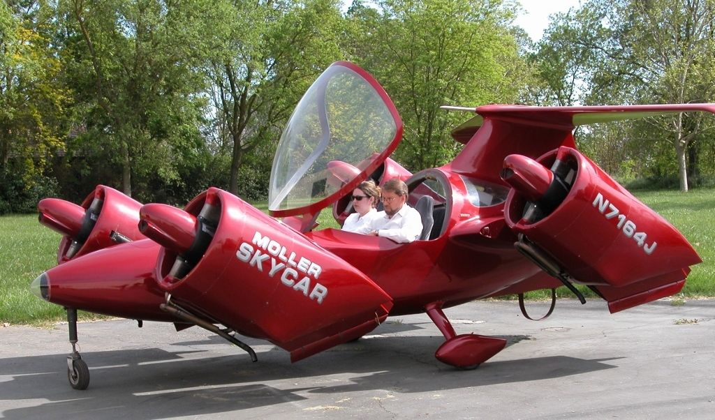 For Sale Skycar One Careful Owner Hardly Used Flyer