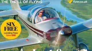 FLYER magazine September 2017 cover