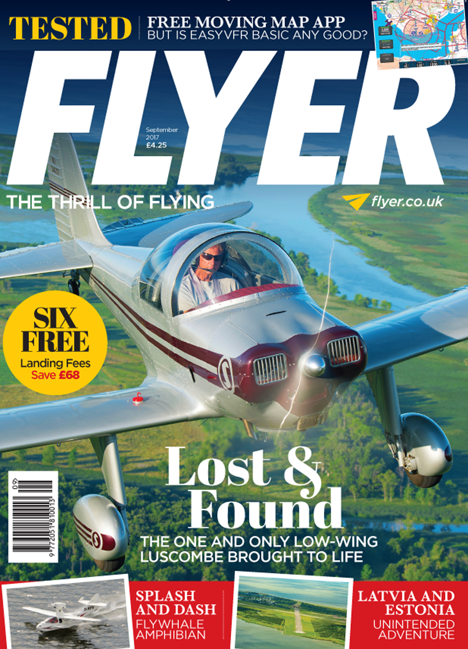 FLYER magazine September 2017 cover