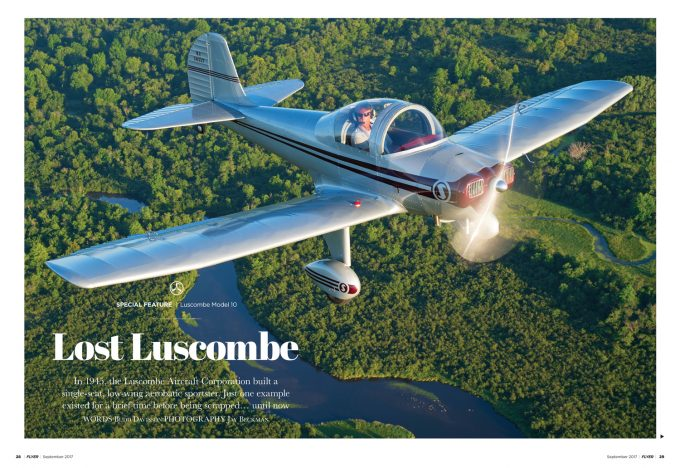 FLYER magazine Luscombe 10 September 2017