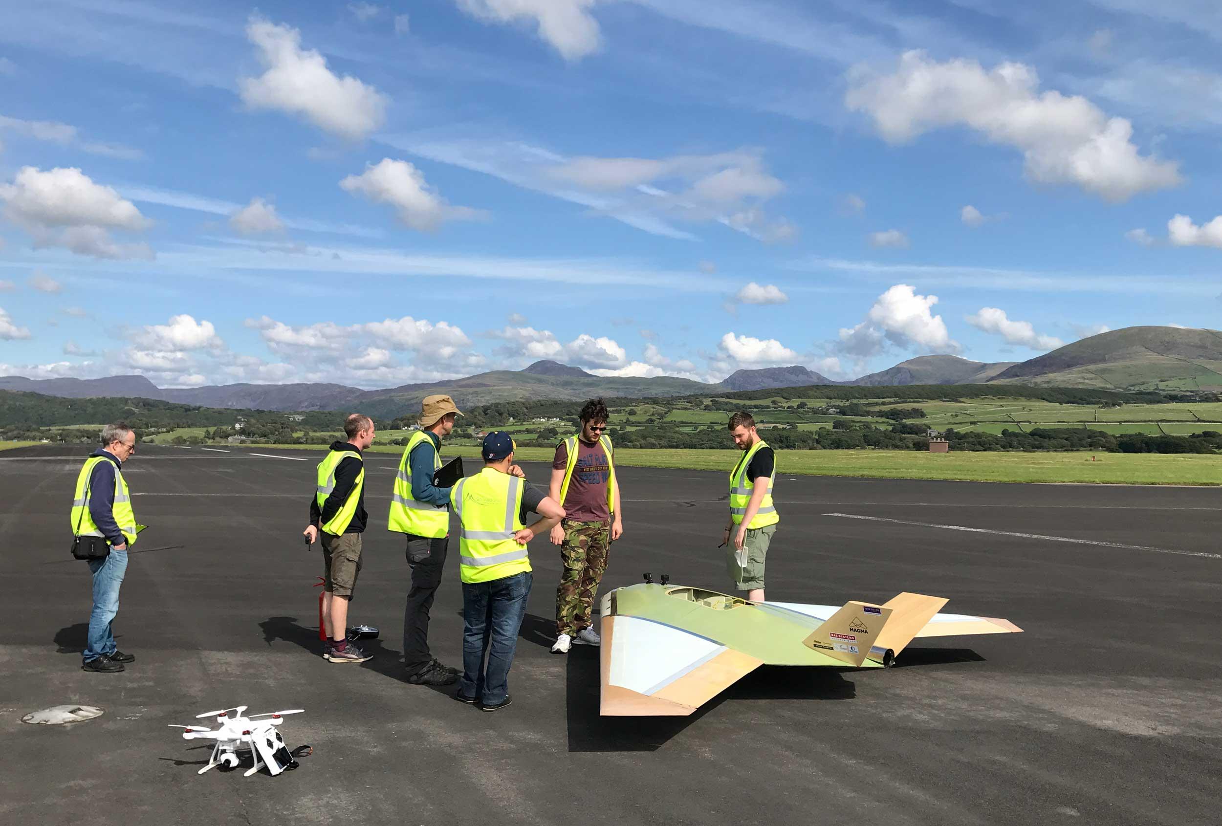 Llanbedr drones