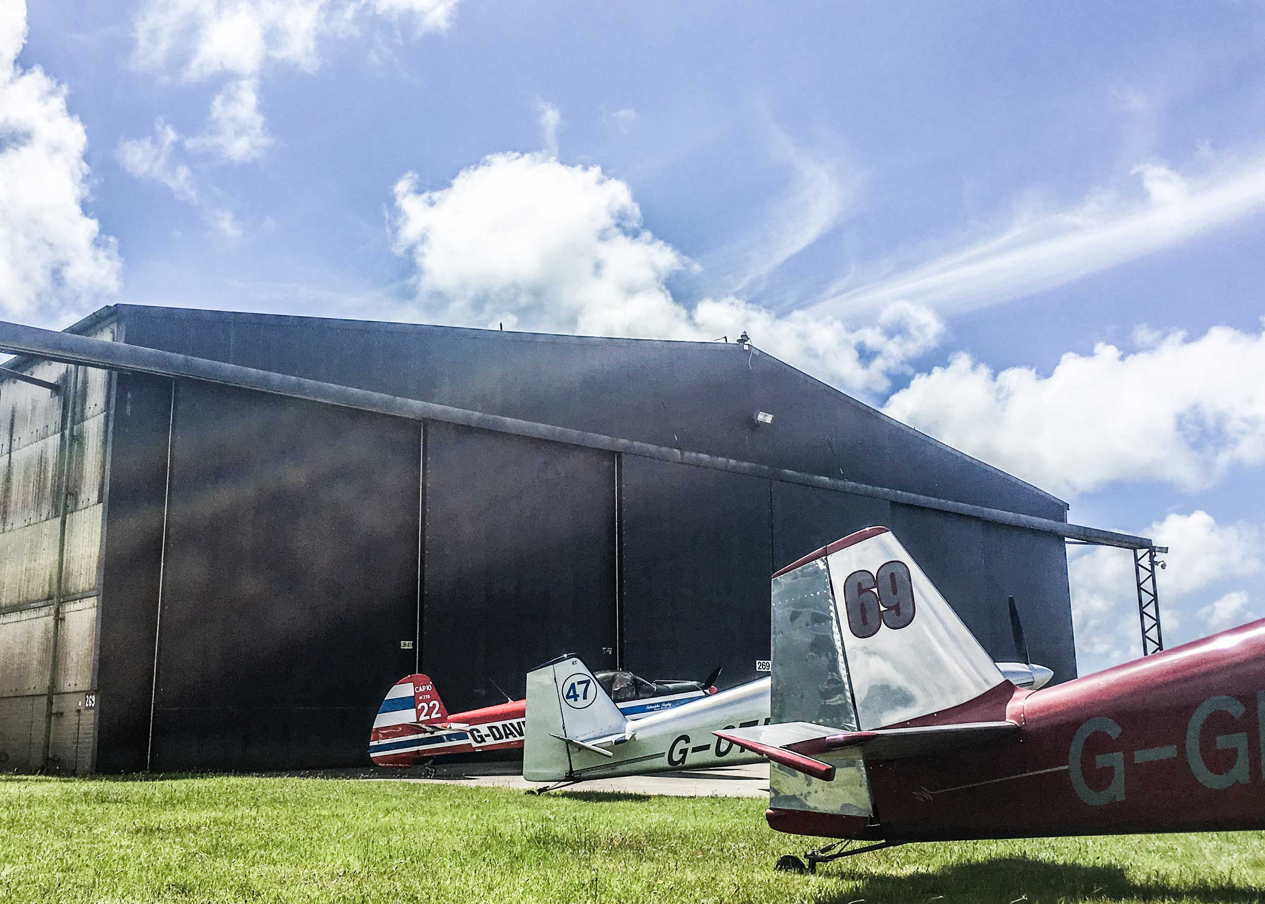 Llanbedr hangar