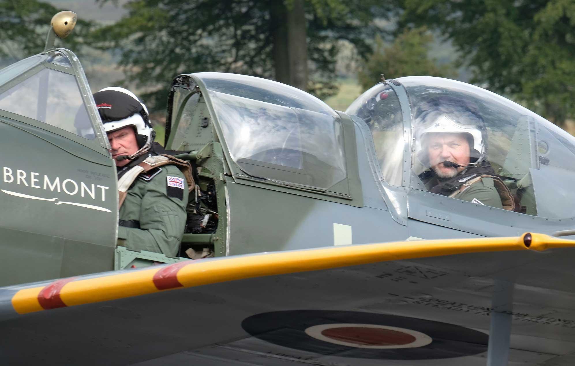 Spitfire Andy Reid