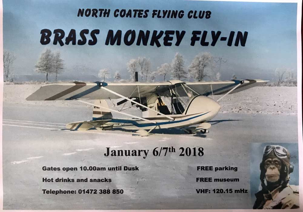 Brass Monkey Fly-in 2018