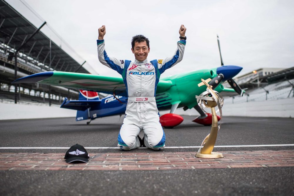 Japanese Ace Wins 2017 Red Bull Air Race Title Flyer