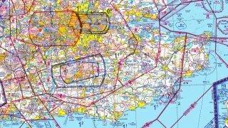 CAA VFR chart