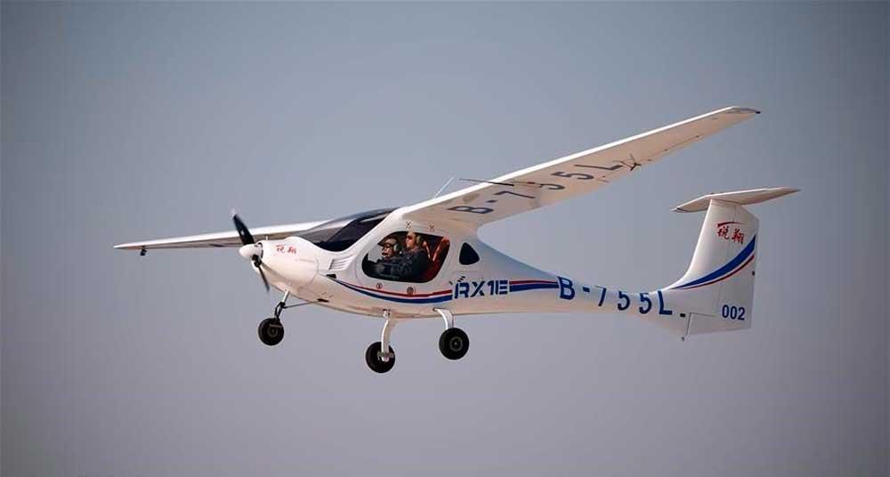 RXIE-A electric plane