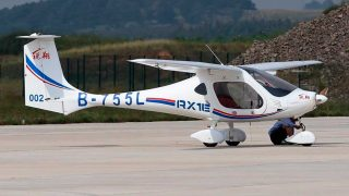 RXIE-A electric aircraft