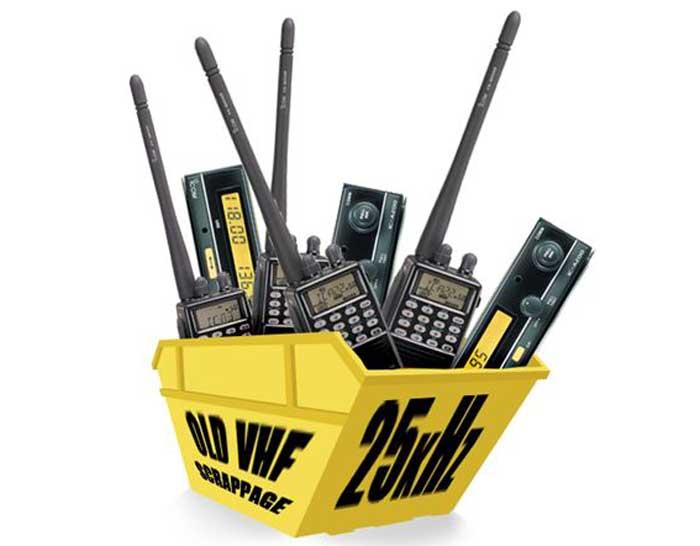 Icom radio scrappage scheme