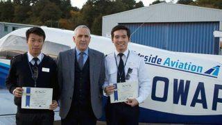 Tayside Aviation Hong Kong pilots