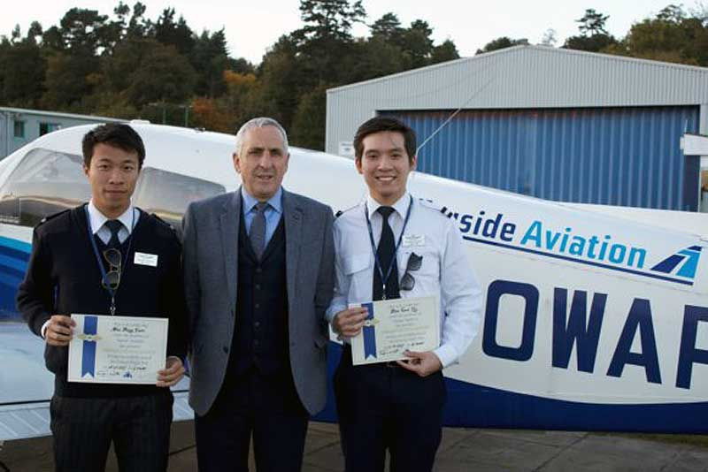 Tayside Aviation Hong Kong pilots
