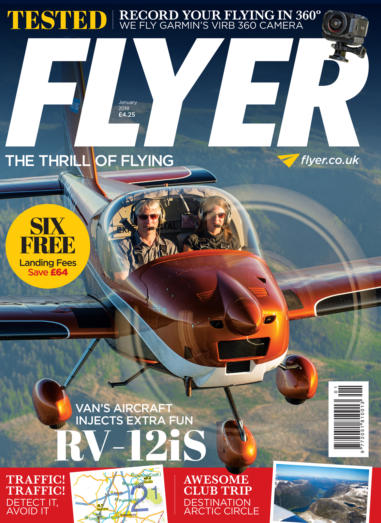 FLYER magazine January 2018