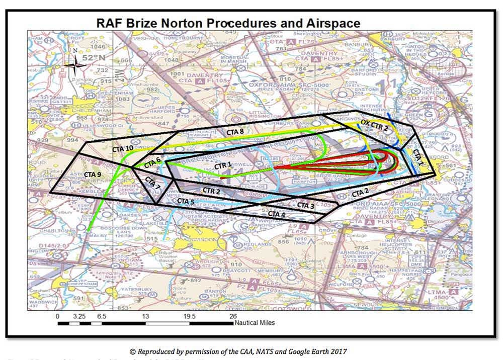 Brize airspace