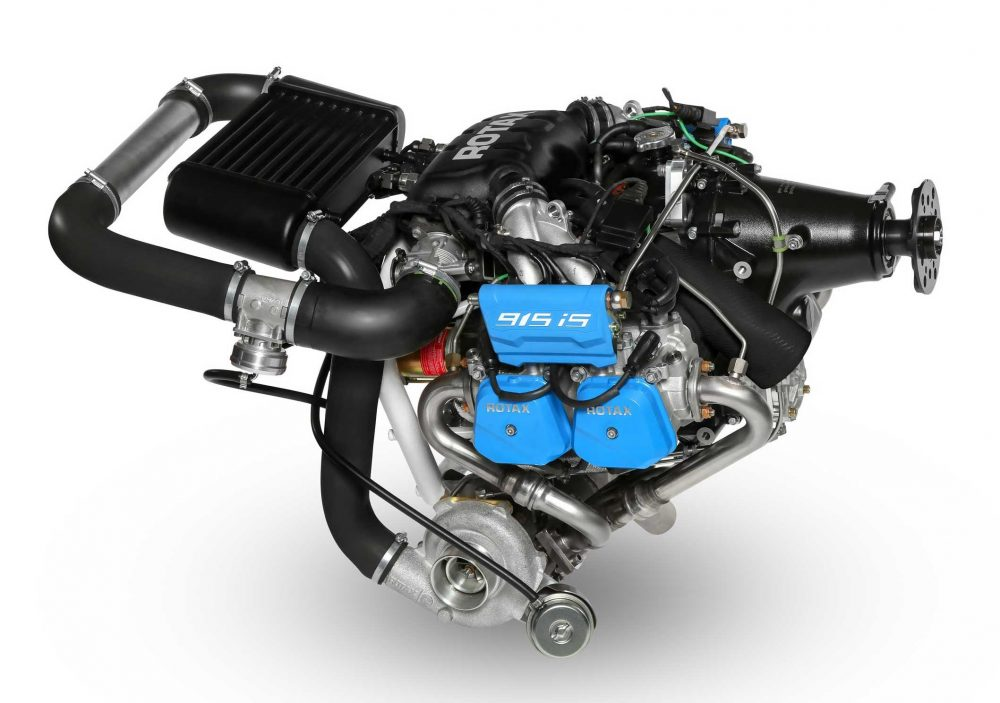 Rotax 915 engine receives EASA type certificate