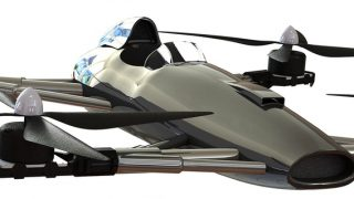 Alauda flying racing car