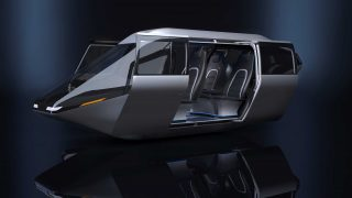 Bell air taxi concept CES2018