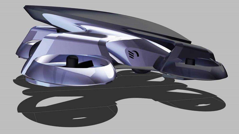 Cartivator Skydrive flying car