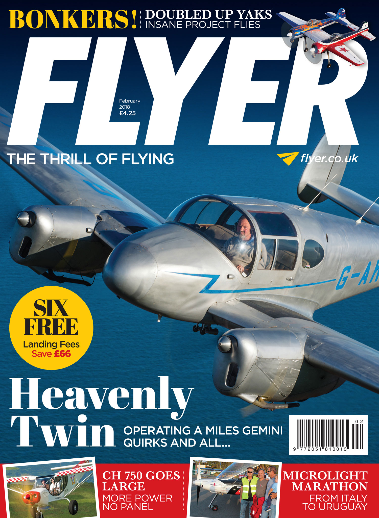 FLYER magazine cover February 2018