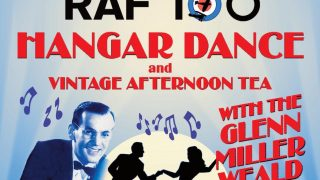 orth Weald RAF 100 hangar party
