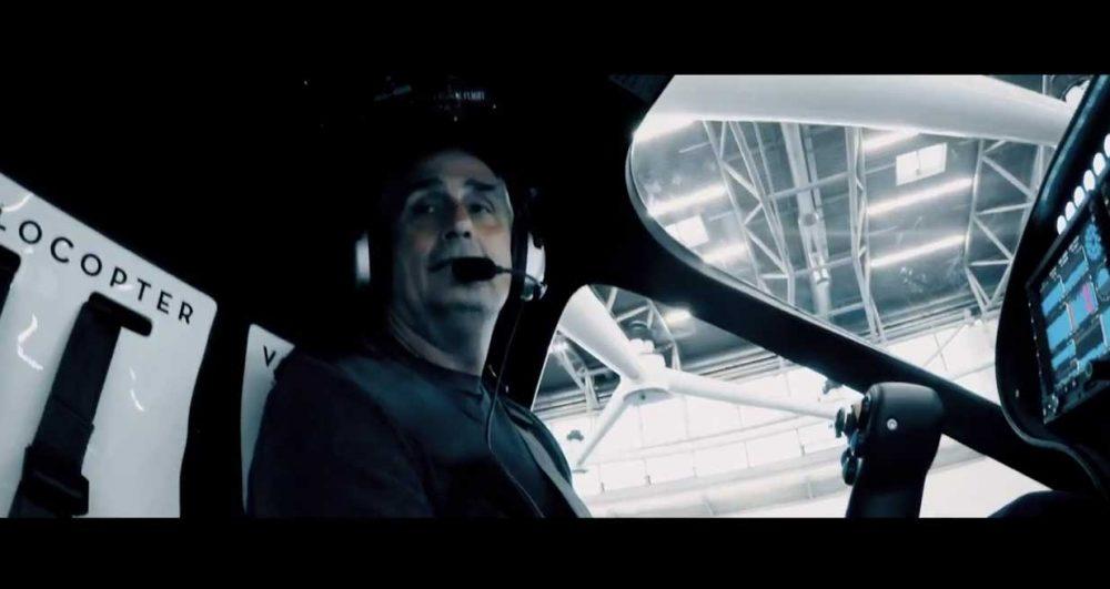 Volocopter Intel boss flight