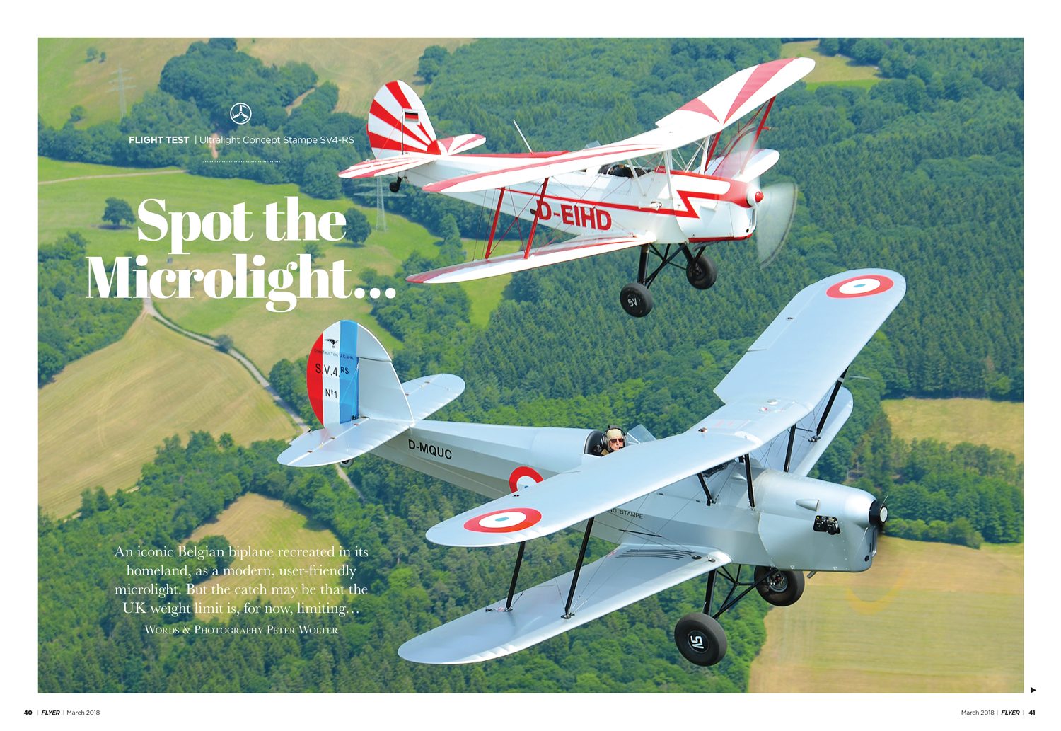 FLYER March 2018 Stampe