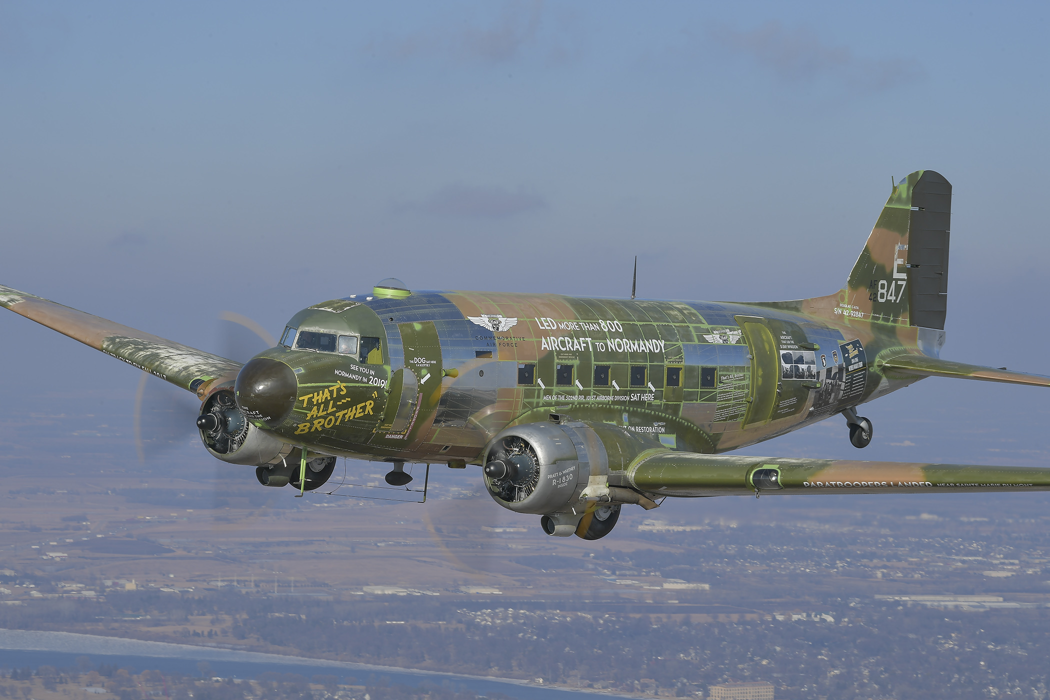 Thirty C-47s to invade Normandy for D-Day 75th - FLYER