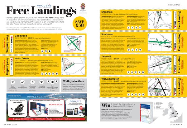 Flyer free landing fees