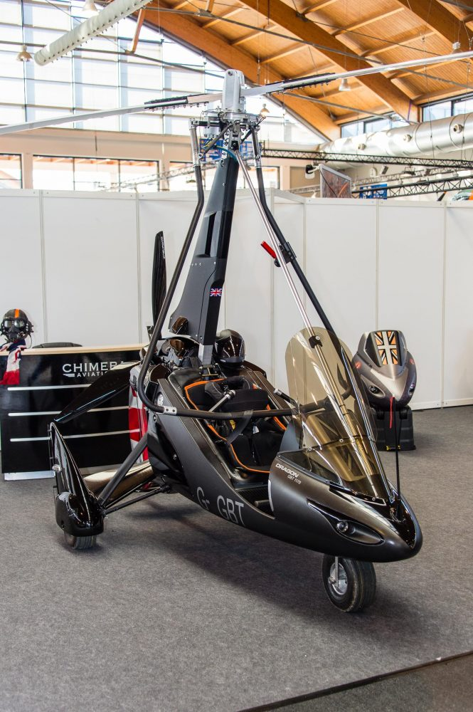 Chimera Dragon autogyro at AERO 2018