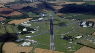 Cotswold Airport Kemble runway 08