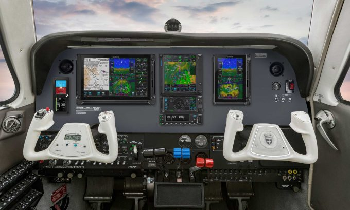 Garmin GFC 600 autopilot for Beech Baron and Cessna 340 twins