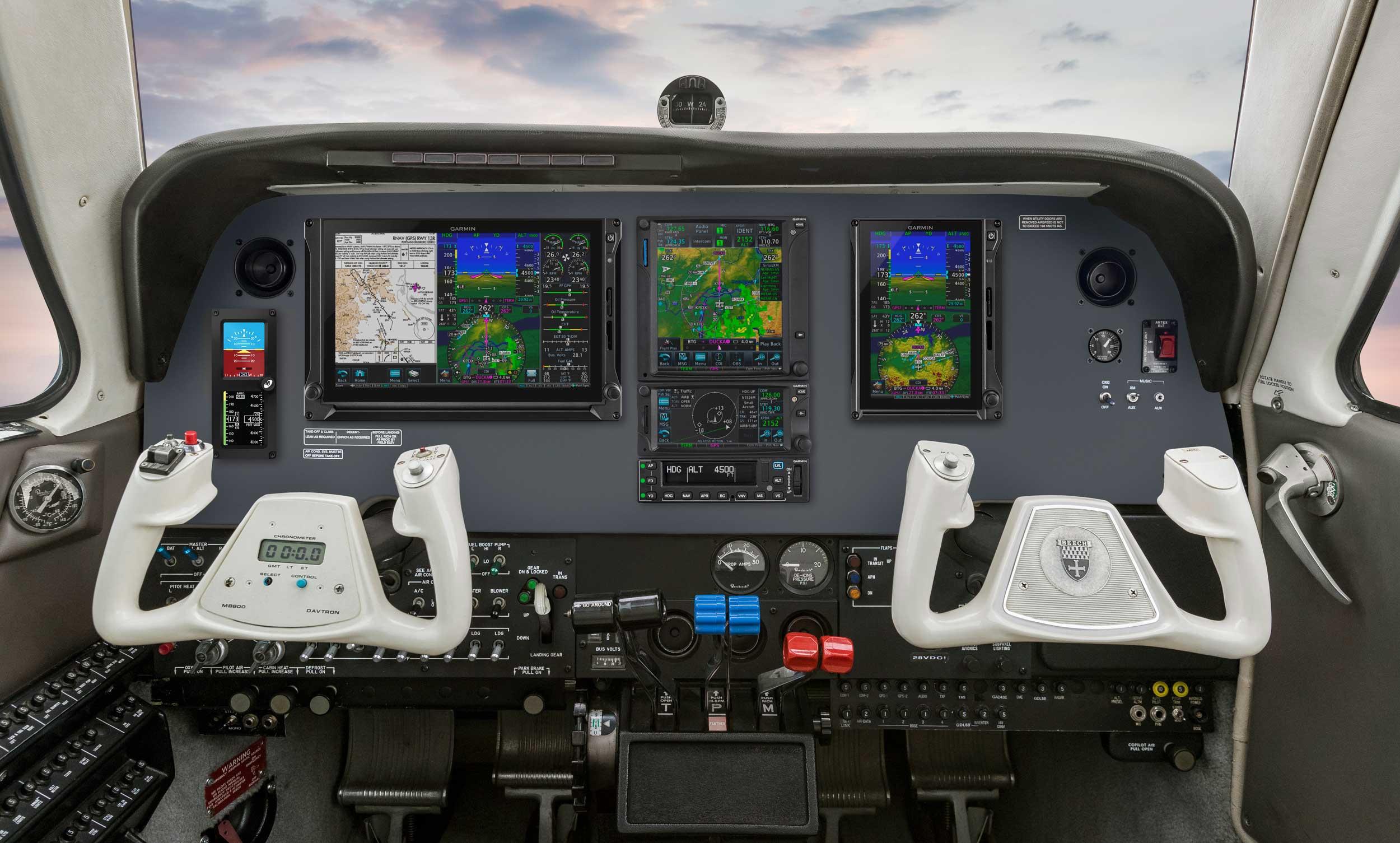 Garmin receives autopilot STC for Beech and Cessna twins