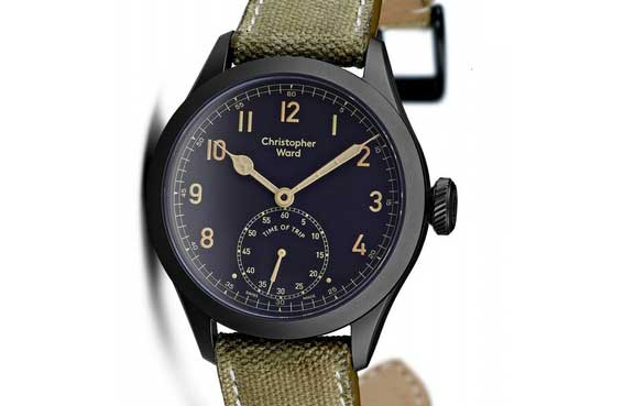 Christopher Ward RAF watch Merlin engine