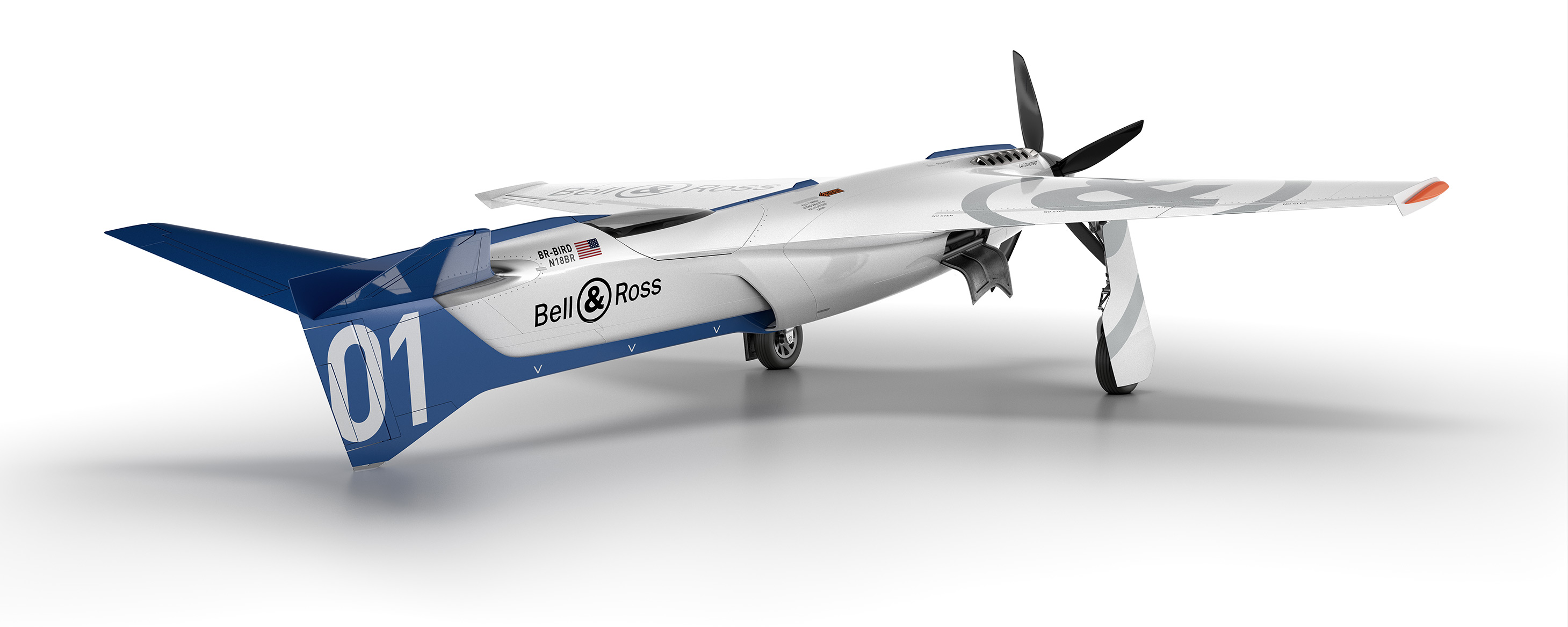 Bell Ross Racing Bird Reno plane
